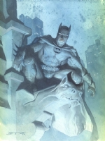 Esad Ribic Batman Comic Art