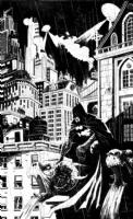 Tyler Champion Batman Comic Art