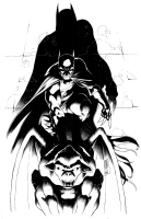 Cafu Batman Comic Art