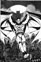 George Perez Batman Comic Art
