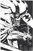 Paul Gulacy Batman Comic Art