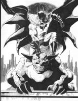 Ethan Van Sciver Batman Comic Art