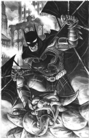 Scott Kolins Batman Comic Art