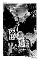 Butch Bats Comic Art