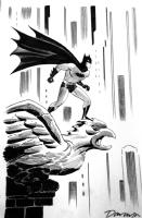 Darwyn Cooke Batman Comic Art