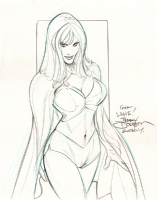 Terry Dodson - White Queen Comic Art