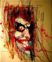 The Joker by Bill Sienkiewicz Batman Comic Art