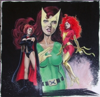 The many incarnations of Jean Grey Comic Art