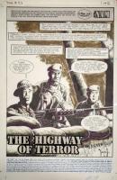 NAM # 83, page 1. Wayne Vansant Comic Art