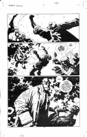 Mike Mignola - Hellboy 14 Bat/Hell/Starman 2p11, Comic Art