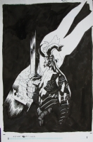 Mike Mignola HELLBOY - Wild Hunt Cover, Comic Art