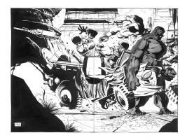 # 1 Hulk Gray. DPS. Tim Sale, Comic Art
