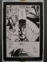 Tim SALE. Batman Ghosts page 38. Great Joker page., Comic Art