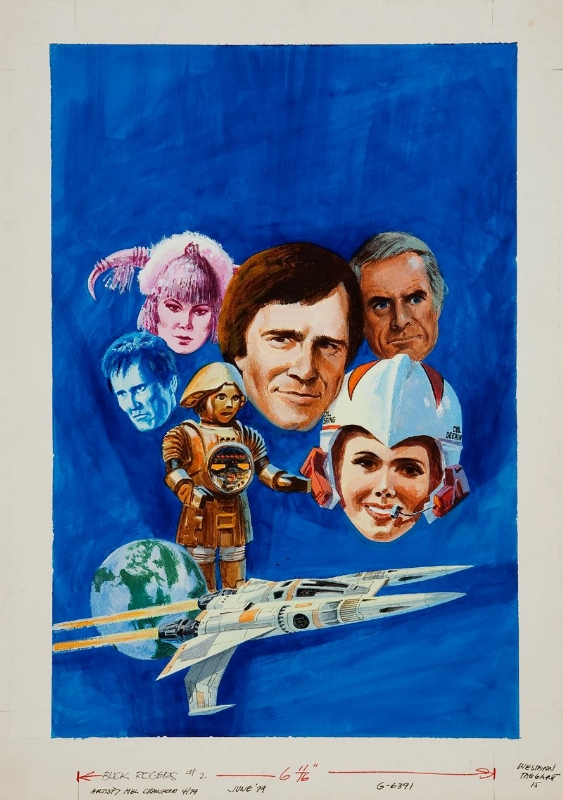 BUCK ROGERS IN THE 25th CENTURY #2 (Aug. 1979) - Series Premiere / Part 1 (of 3) of Gold Key's adaptation of the TV Movie Pilot ''Awakening'' Comic Art