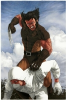 Aype Beven : Wolverine pinup Comic Art