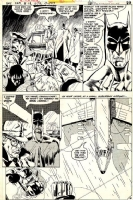 Michael Golden Batman Family page Comic Art