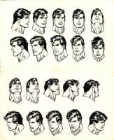 Jose Luis Garcia-Lopez Superman Heads Comic Art