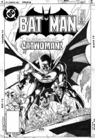 Gil Kane Batman 382 cover Comic Art