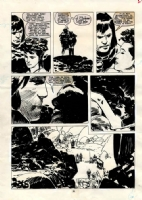 Zaffino Savage Sword of Conan 162 p.22 Comic Art