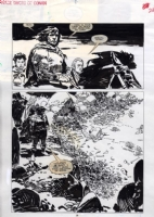Jorge Zaffino Savage Sword of Conan 162 p.26 Comic Art