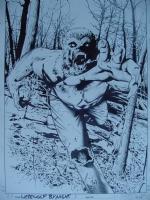 Greg Land/Matt Ryan: Legion of Monsters Werewolf by Night #1 COVER Comic Art