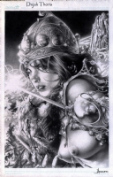 Dejah Thoris by Jay Anacleto Comic Art