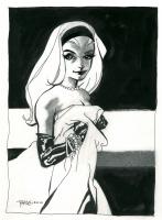 Gwen Stacy by Tim Sale Comic Art