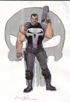 Punisher War Journal #7 Cover Comic Art