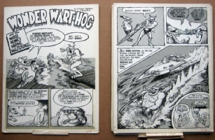 wonder wart-hog complete story Comic Art
