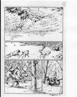 Animal Man Unpublished Page 01 Comic Art