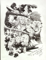 Tod Smith Ka-zar  Comic Art