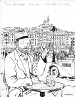 Max Fridman in Marseilles Comic Art