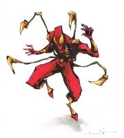 Iron Spider-Man Comic Art