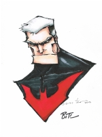 Batman Beyond - Fletcher Comic Art
