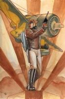 Rocketeer - Granov, Comic Art