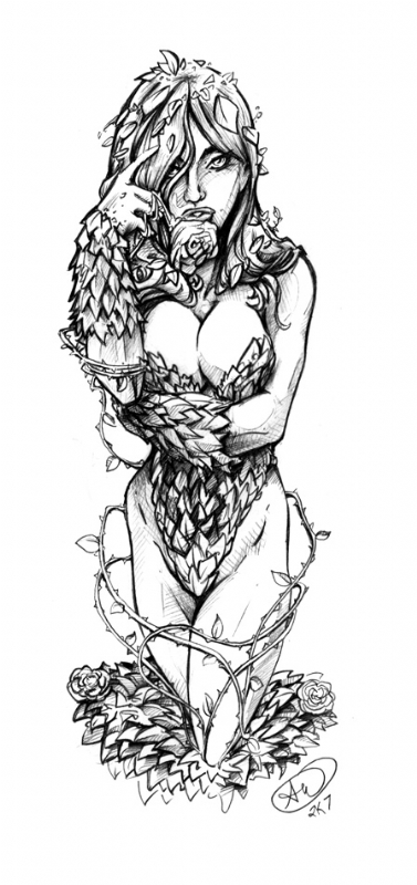 poison ivy comic pictures. Poison Ivy Comic Art