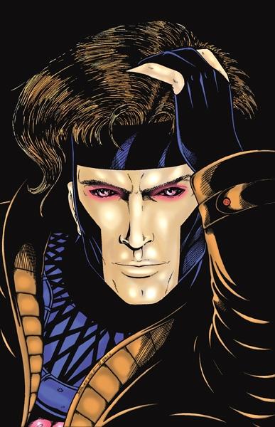 Gambit Comic Art Gambit comic art