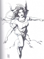 Mary Marvel by Giuseppe Camuncoli Comic Art