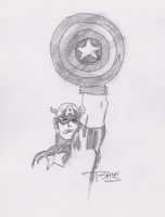 Captain America by Tim Sale, Comic Art