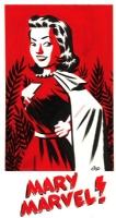 Mary Marvel by Michael Cho, Comic Art