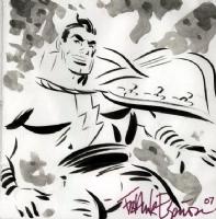 Capt. Marvel by Frank Espinosa, Comic Art