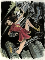 Mary Marvel by Matt Kindt, Comic Art