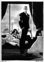 James Bond by Tim Sale Comic Art