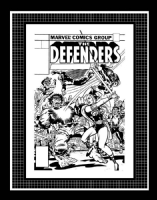 Wanted - Jack Kirby - Defenders 45 cover Comic Art