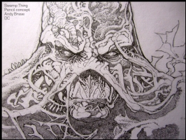 Swamp Thing: Concept DC: Brase, Comic Art