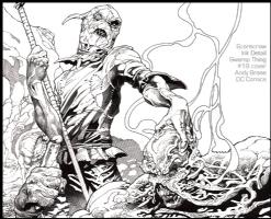 Scarecrow: ST 19 cover, Comic Art