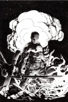 Bloodshot #2 cover: Ink, Comic Art