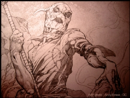 Scarecrow : Pencil : DC cover, Comic Art