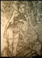 Poison Ivy- Pencil, Comic Art
