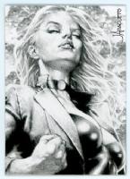 Black Canary by Jay Anacleto Comic Art